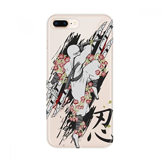 Amazon.com: Japan Culture Ninja Samurai Sword Apple iPhone 7 ...