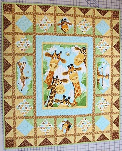 """Tall Tales - Susybee - Zoe Giraffe - Quilt Kit - 42"""" X 49"""