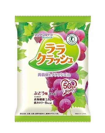 Tokuho] MannanLife campo konjac Lara sabor de uva accidente ...
