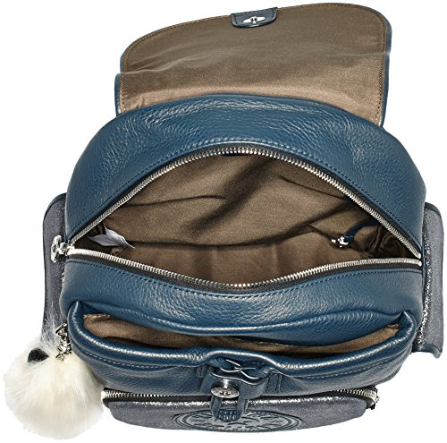 Kipling CITY PACK S Damen Shopper 27x33.5x19 cm (B x H x T), Mehrfarbig (98R Navy Black)