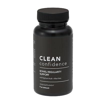 CLEAN Confidence Apoyo de la regularidad del intestino - 60 cápsulas - Suministro de un mes por ConfidentU