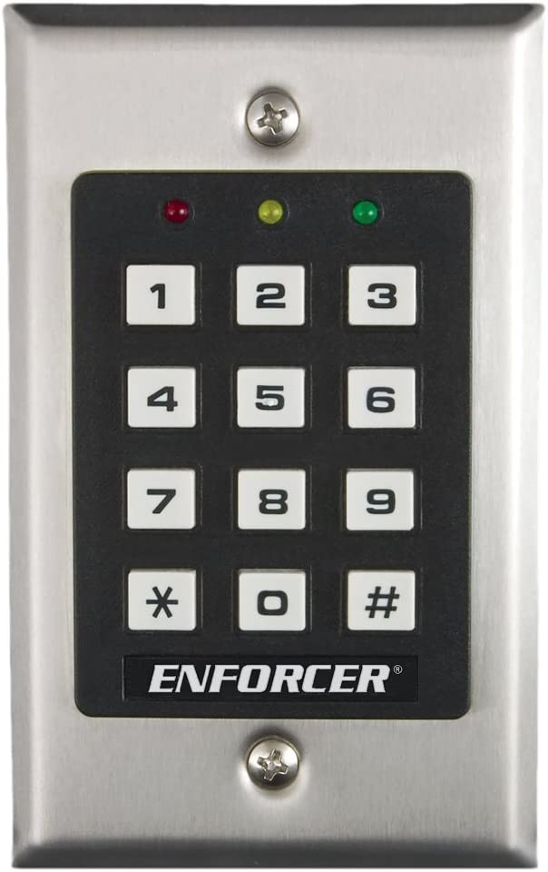 amazon com access control keypads electronicsseco larm sk 1011 sdq enforcer access control keypad, up to 1,000