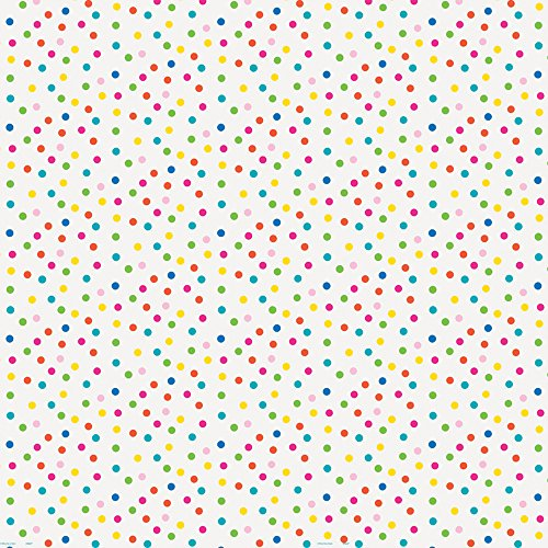 - Polka Dot Wrapping Paper, Multicolored