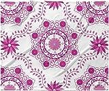 KESS InHouse Anneline Sophia ''Let's Dance Fuschia'' Pink Floral Fleece Baby Blanket, 40'' x 30''