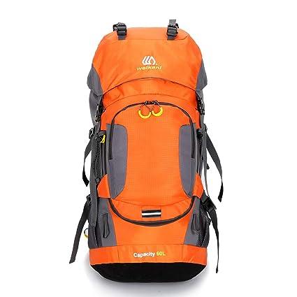 e59426b6a7ef Amazon.com : AUNLPB Casual Climbing Backpack, 60L for Men Women ...