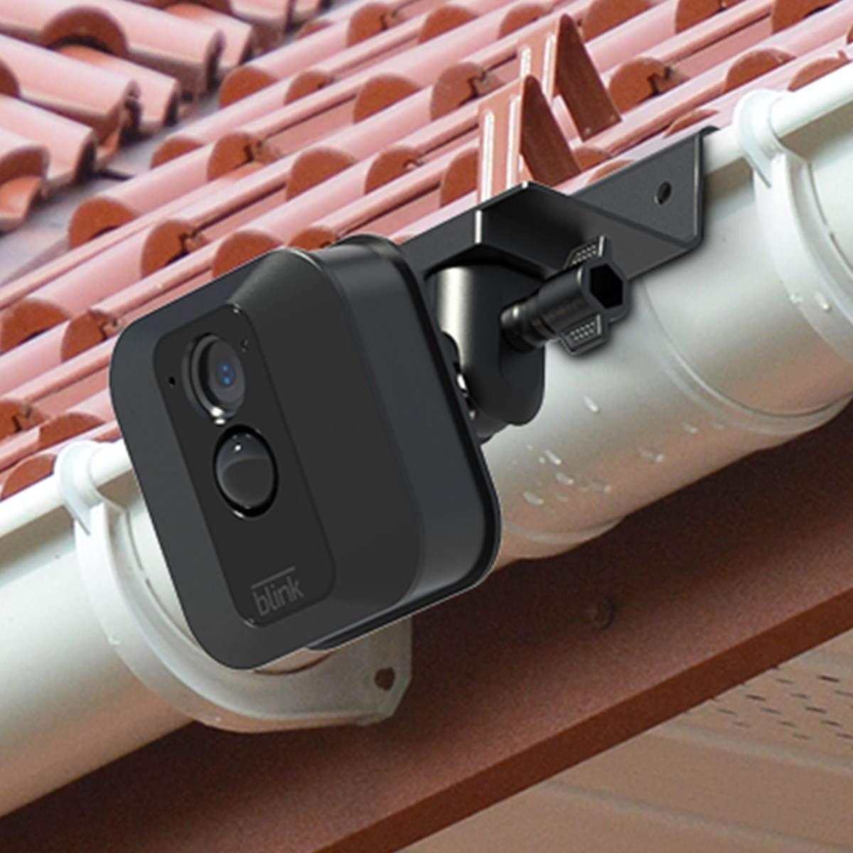 Mejor /ángulo de visi/ón para tu c/ámara de vigilancia en casa Blink Soporte de canal/ón Impermeable para Blink XT BECROWMEU