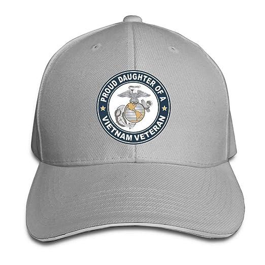 4de35491954 U.S. Marine Corps Proud Daughter of A Vietnam Veteran Adjustable Baseball  Hat Dad Hats Trucker Hat