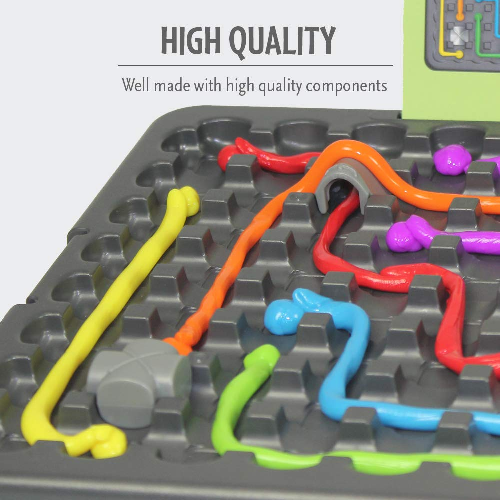 ThinkFun and Crazy Aaron's Thinking Putty Puzzle and STEM Toy for Boys and Girls Ages 8 and Up - The Famous Thinking Putty in Logic Game Form by Think Fun (Image #4)