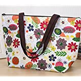 Women Cooler Bag Fashion Insulated Lunch Portable Carry Fresh Pack Picnic Storage Bag Women Tote Lunch Box 1PCS