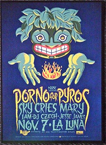 Porno for Pyros - Sky Cries Mary - Live at La Luna - Rare Tour Advertising Poster
