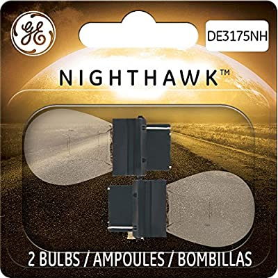 GE Lighting DE3175NH/BP2 Nighthawk Automotive Replacement Bulbs, 2-Pack: Automotive