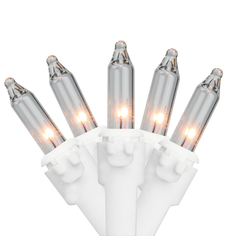 Amazon.com : Set of 35 Clear Mini Christmas Lights 2.5\