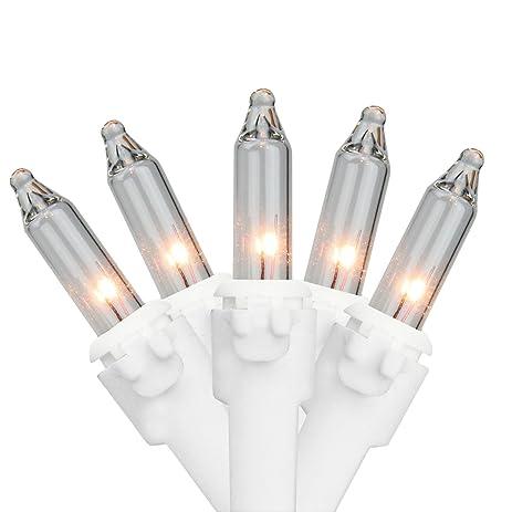 Amazon.com : Set of 35 Clear Mini Christmas Lights 2.5