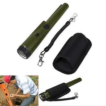 Detector de metales Gaddrt de ProPointer, impermeable, Army Green: Amazon.es: Deportes y aire libre
