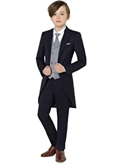 Cravat Navy Page Boy Suits Boys Formal Suit Boys Navy Suit Pocket Square