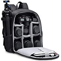 CADeN Camera Backpack Bag Professional for DSLR/SLR Mirrorless Camera, Camera Case Compatible for Sony Canon Nikon…
