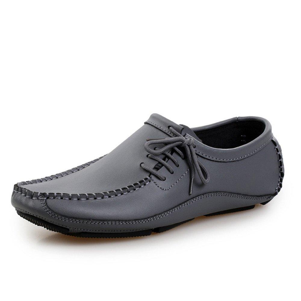 AFCITY Flache Casual Herrenschuhe Breathable Driving Flache AFCITY Schuhe Klassischer Stiefelschuh (Farbe : Grau, Größe : 42 EU) Grau abef9b