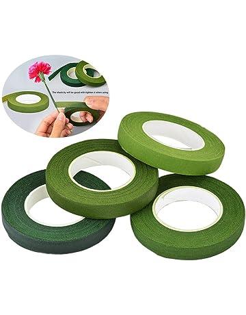 Decora 0803050 Cinta DE Papel para FLORISTAS Verde 12MM 27M