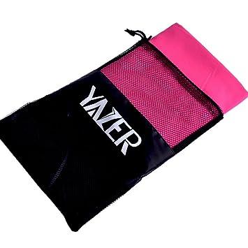 Yazer toalla de viaje de microfibra Ultra absorbente toallas de cuerpo para al aire libre y