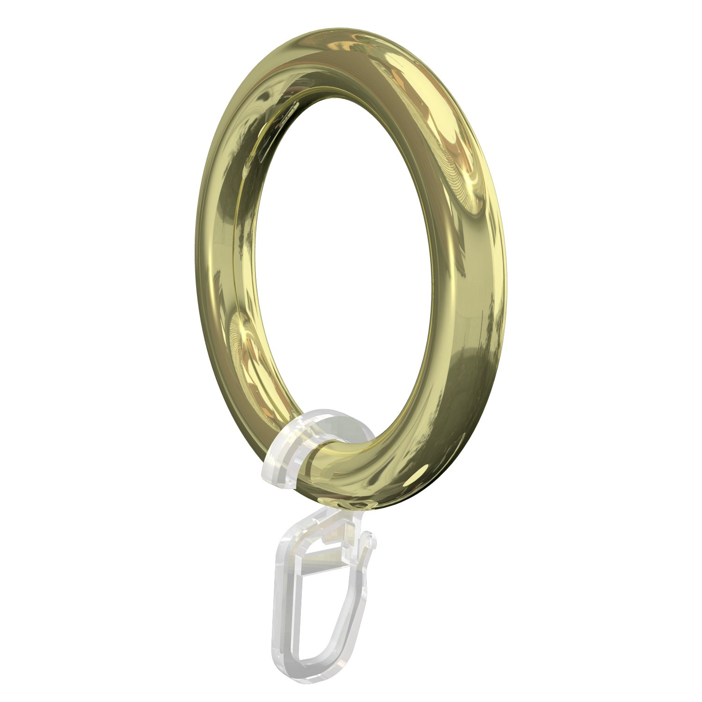 Neu TOP 30Stk Edelstahl ringe weiß lackierte vergoldet Top rings