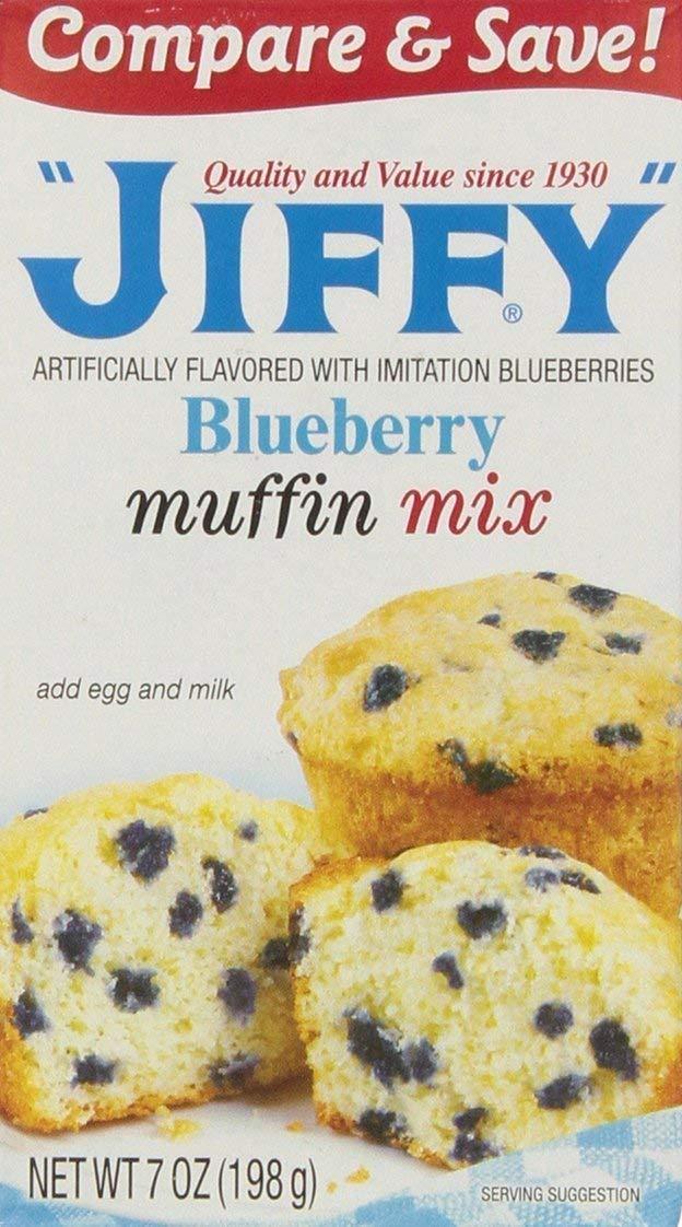 Jiffy Blueberry Muffin Mix 7 oz