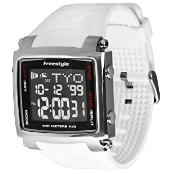 Freestyle Mens FS81320 The Lopex III Custom Square Corey Lopez World Time Zone Digital Watch