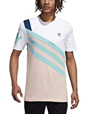adidas Men's Originals Sportive Nineties Tee Short Sleeves Fashion T-Shirt - FN2845