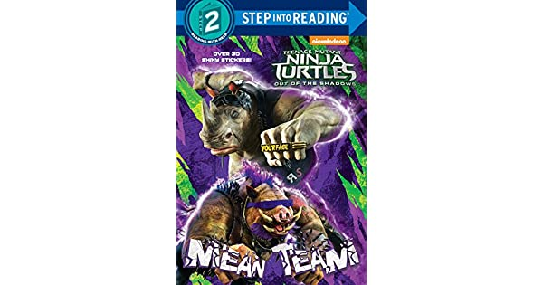 Amazon.com: Mean Team (Teenage Mutant Ninja Turtles: Out of ...
