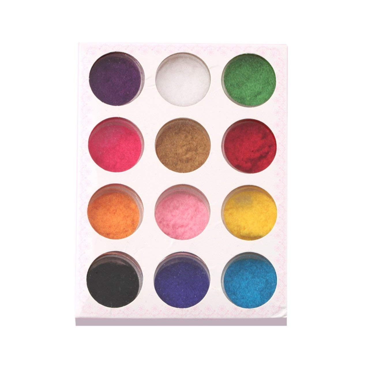 Liobaba 12 Mix Colors Powder Nail Art Dust Powder Design Tips Decoration for Nail Powder Manicure Nail Art