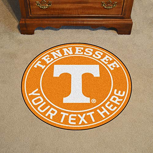 (Custom Home Rugs Personalized University of Tennessee Roundel Mat)