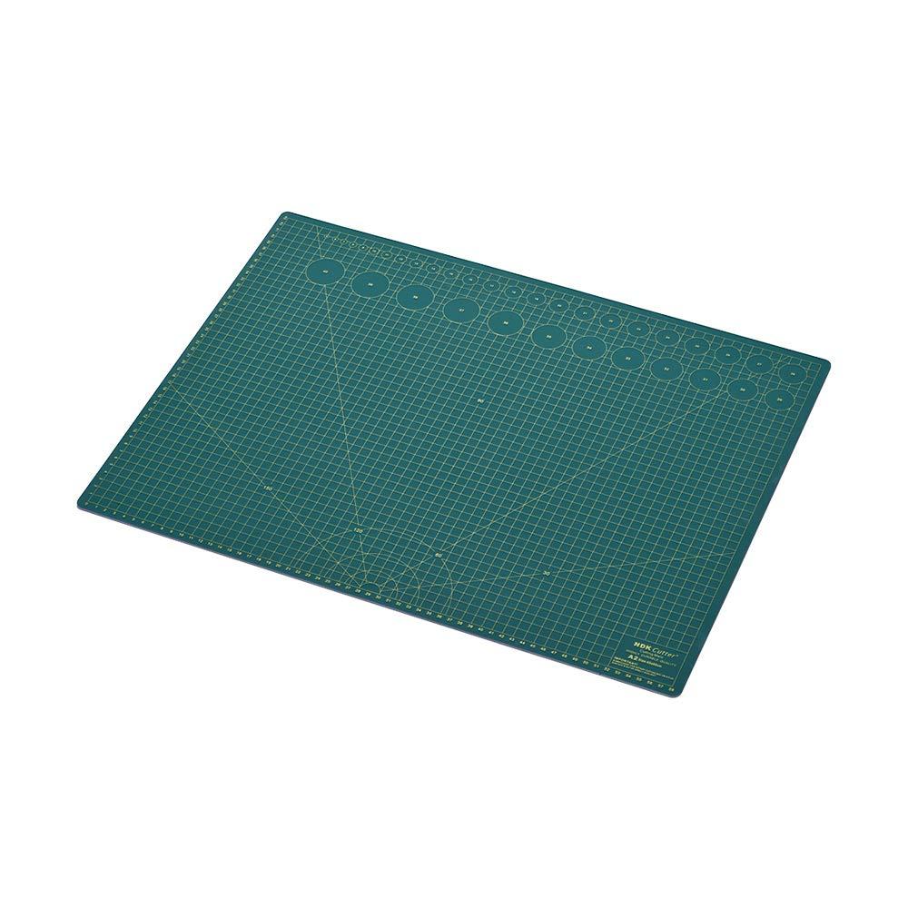 Aibecy Estera de corte rotatorio autorreparable profesional Doble cara de 5 capas Mat con Max Healing para cosechar coser Quilting Craft A2 NDK A3 A4