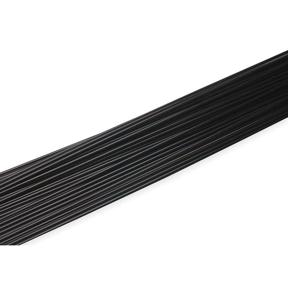 Black 3//16 in Polypropylene Welding Rod