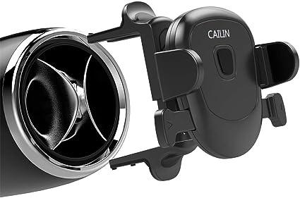 Black1 Car Phone Mount,Applicable Mercedes-Benz Mobile Phone Holder e c-Class gla200glc260c260e300a200l,Audi A3 Q2,Ford Mustang,Volkswagen Tiguan Mobile Phone Bracket