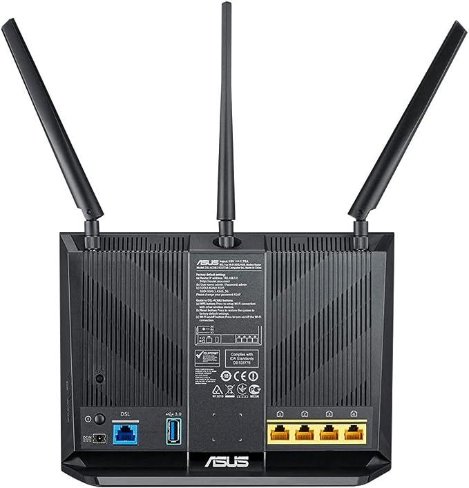 Asus Dsl Ac68u Modem Router Computers Accessories