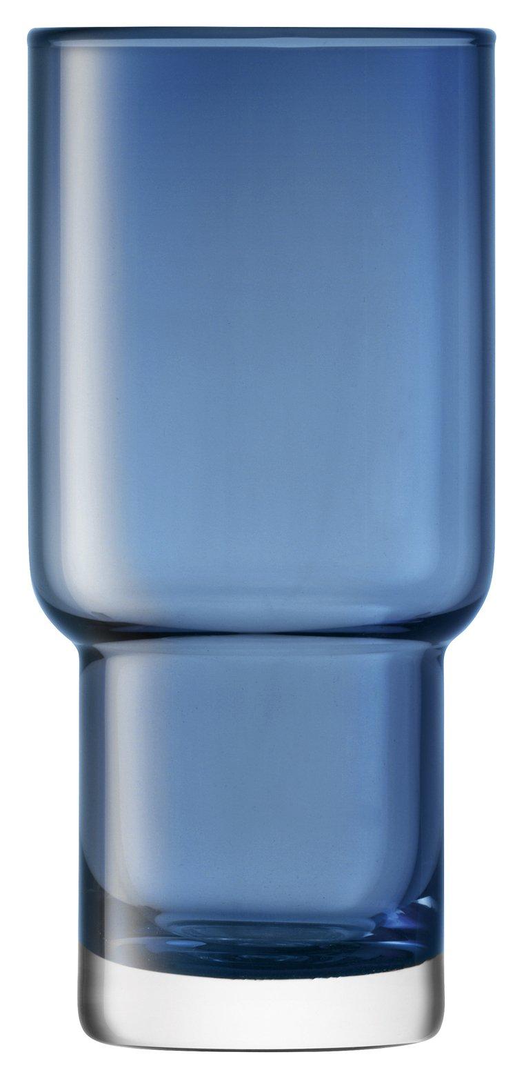 LSA International G1323-14-610A Utility Highball Glass 13.2 fl. oz Sapphire