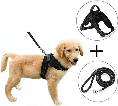 Malla de tela chaleco de perro arnés suave ajustable arnés de ...