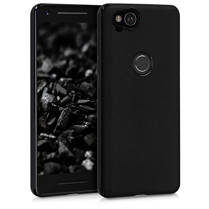 2 opinioni per kwmobile Cover per Google Pixel 2- Custodia in silicone TPU- Back case