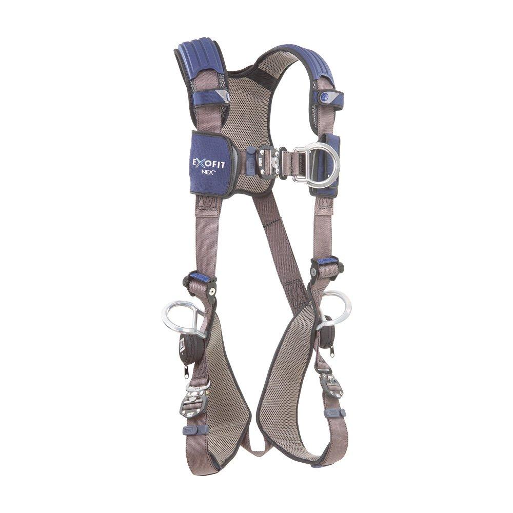 DBI/Sala 1113079 ExoFit NEX Vest-Style Full Body Harness, Blue/Gray, Medium