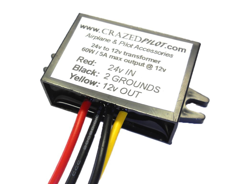 24 Volt To 12 Converter Transformer For Aircraft Power Supply Volts Ac Dc Airplanes Electronics