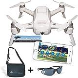 YUNEEC Breeze Drohne + DS24 Tasche L + DS24 Fliegerbrille Quadrocopter Travel Set