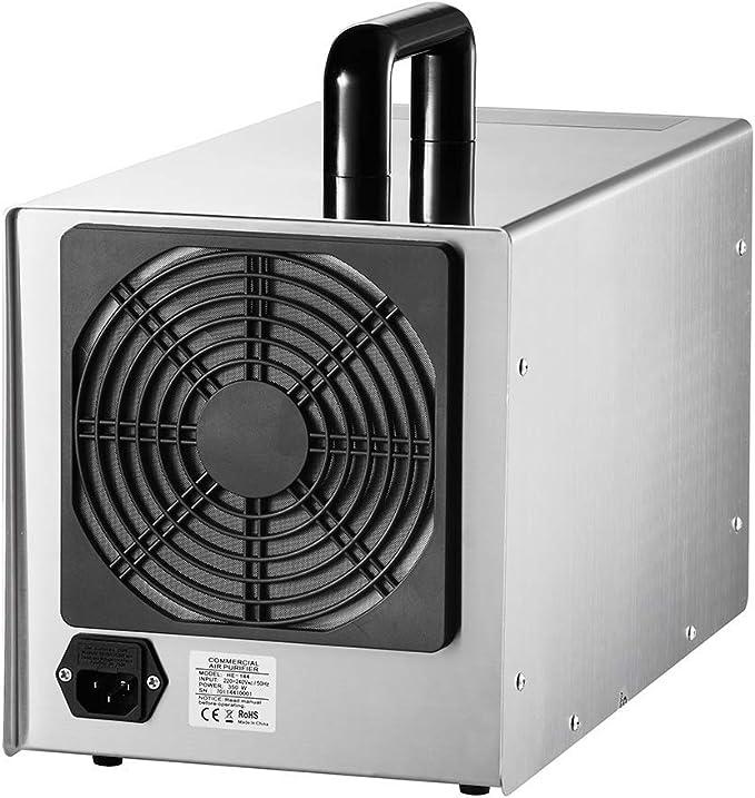 LIUQIGRASS Generador de ozono Comercial 28000Mg / H Purificador de ...