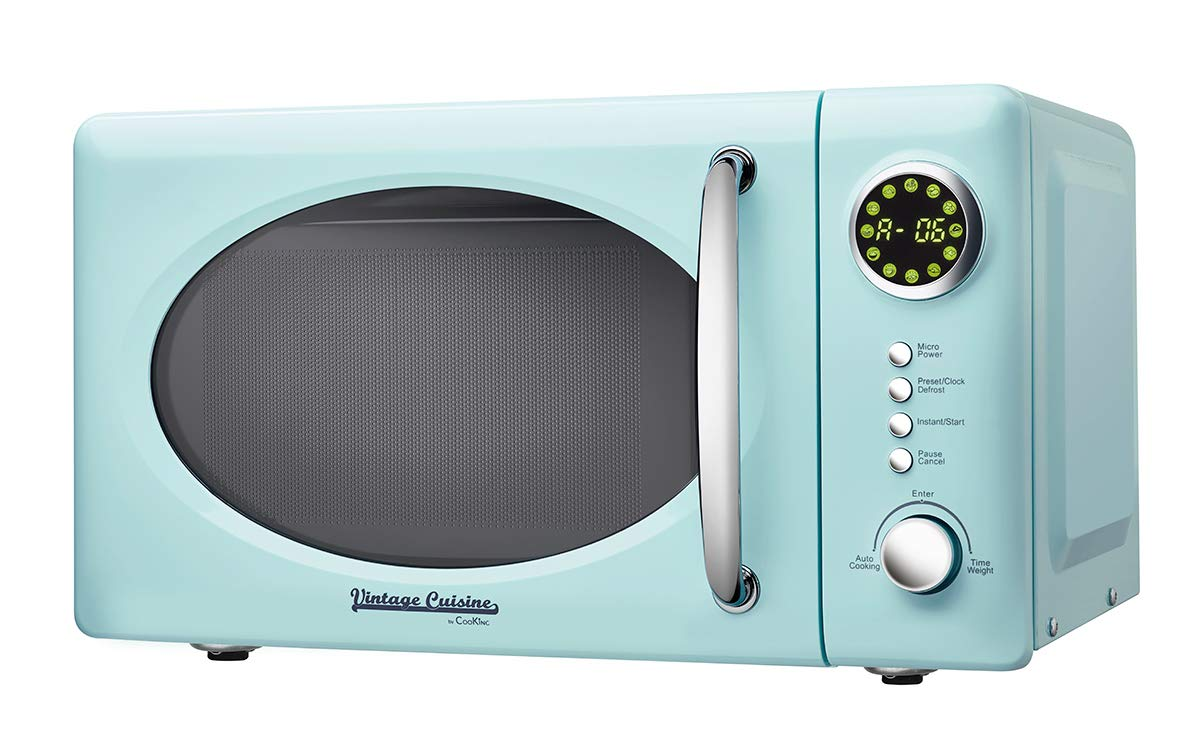 Microondas sin grill 700W 18,5L Vintage Cuisine by CooKing (Cream)