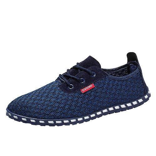 Zapatos Hombre Deportivas Hombre Ofertas Zapatos De Malla Transpirable Zapatos De Hombre Zapatos De Moda Zapatillas De Deporte Zapatos Deportivos: ...