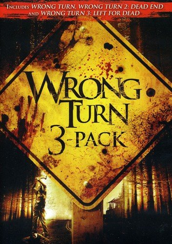 Wrong Turn / Wrong Turn 2: Dead End / Wrong Turn 3: Left for Dead (Three-Pack) (Set Wrong Turn Dvd)