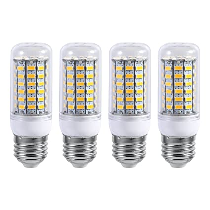 E27 220v Led Light 10w Ceiling Pendant Lamp Light Bulb Replacement For Home Kitchen Bedroom Bathroom Bright Warm Cool White Pack Of 4 Warm White