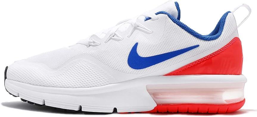 Nike Air MAX Fury (GS), Zapatillas de Running para Hombre, Multicolor (White/Ultramarine 100), 40 EU: Amazon.es: Zapatos y complementos