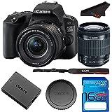 Canon Rebel SL2/200D DSLR Camera with EF-S 18-55mm STM Lens