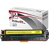 PerfectPrint - Compatible HP CF212A 131A Amarillo Cartucho de tóner láser para HP LaserJet Pro 200 color M276n Impresoras M276nw