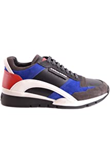 DSQUARED2 HOMME S17SN437528M227 MULTICOLORE CUIR BASKETS