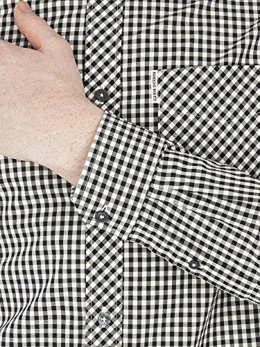 Ben Sherman -  Camicia Casual  - A quadri - Con bottoni  - Uomo